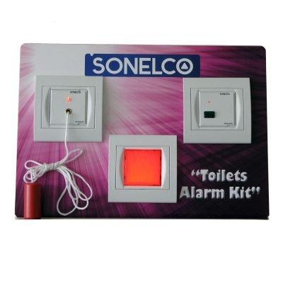 Sistema de llamada de emergencia con señalización acústica y luminosa