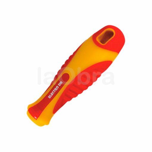 Kit 7 destornilladores intercambiables buscapolos mango