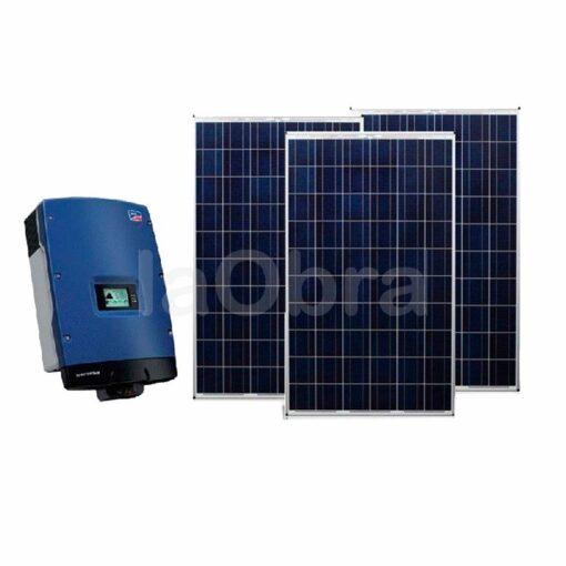 Kit energía solar fotovoltaico autónomo