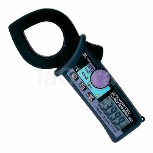 Localizador fugas digital 4mA 100A Kyoritsu 2432