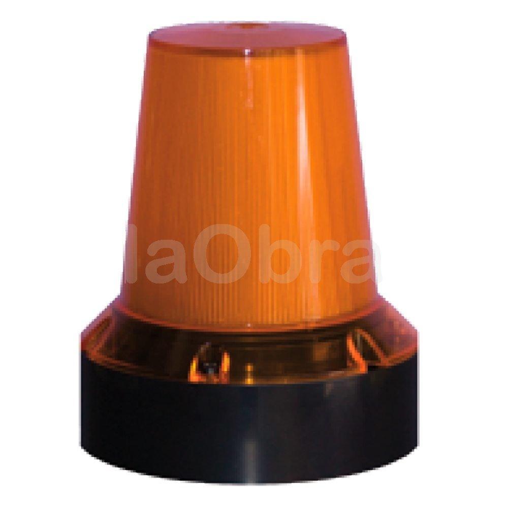 Luz estroboscópica triple flash led naranja
