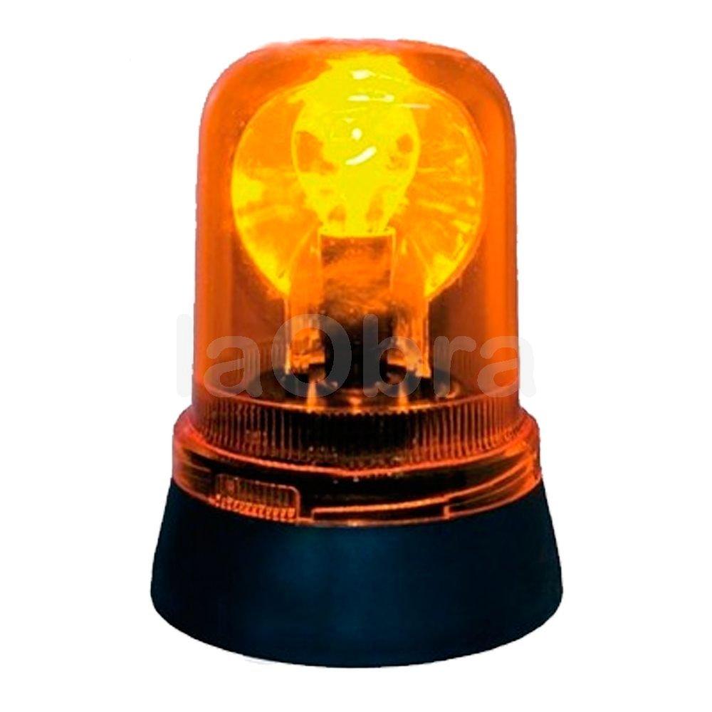 Luz rotativa girolamp 230V ámbar