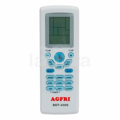 Mando distancia universal aire acondicionado Agfri