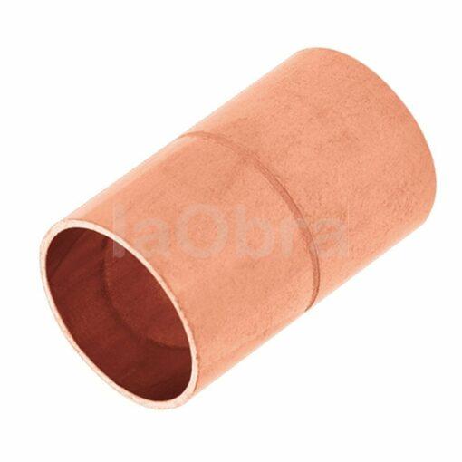 Manguito cobre unión H-H