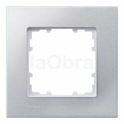 Marco aluminio metalizado Siemens Delta Miro