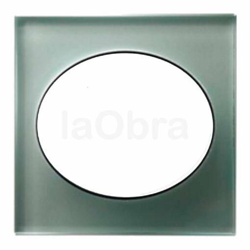 Marco cristal aluminio Niessen Tacto