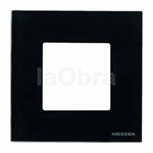 Marco cristal negro Niessen Zenit