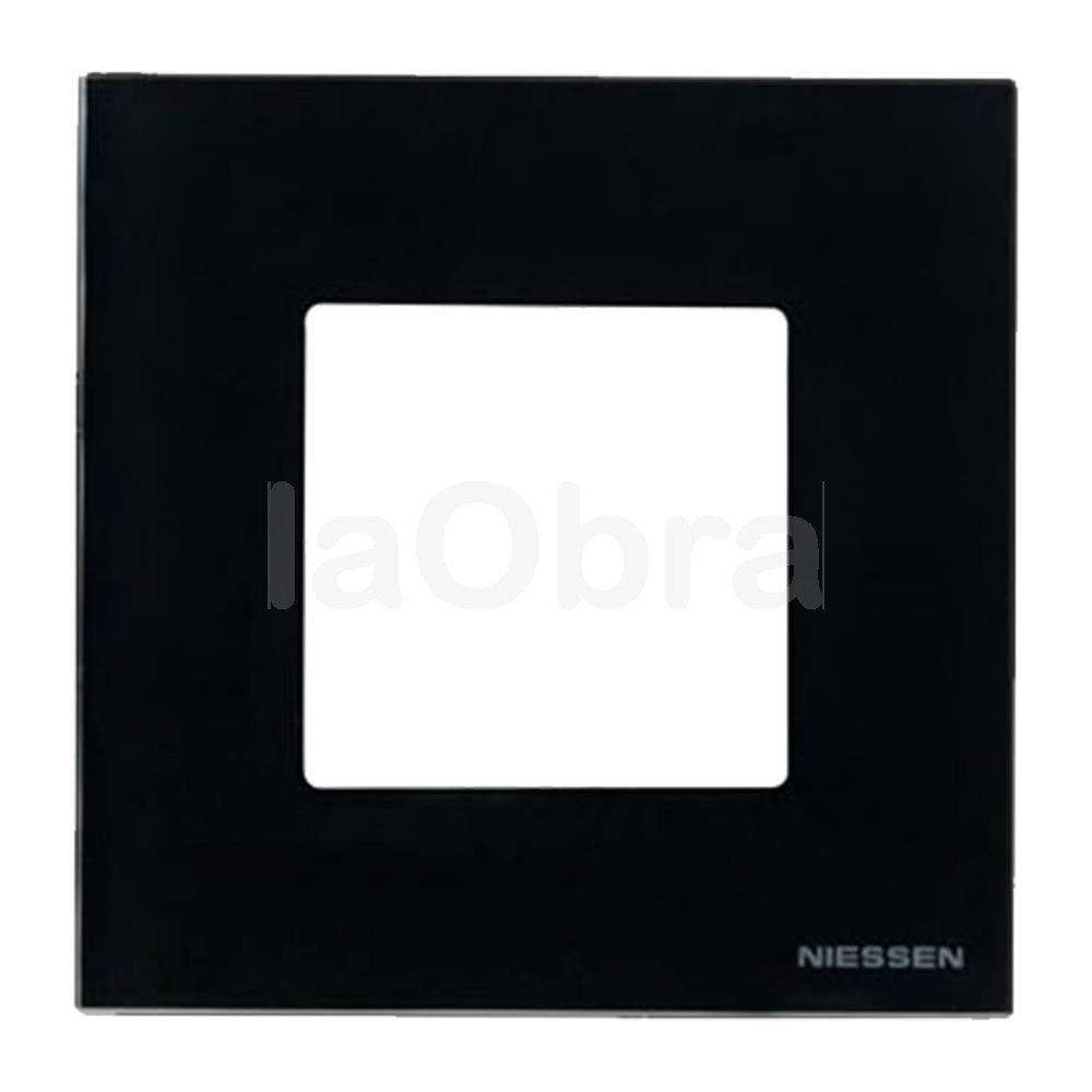 Marco cristal negro Niessen Zenit al mejor precio con envío rápido