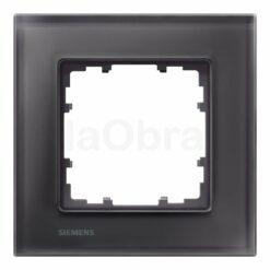 Marco cristal negro Siemens Delta Miro