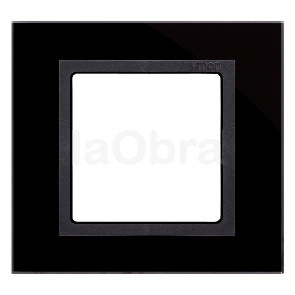 Marco cristal negro Simon 82 Nature para 1, 2, 3 y 4 elementos | laObra