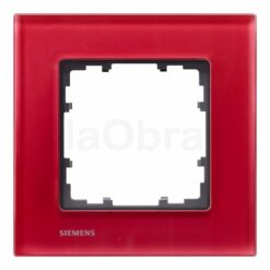 Marco cristal rojo oriental Siemens Delta Miro