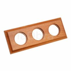 Marco madera sapelly Fontini Venezia Carre 3 elementos