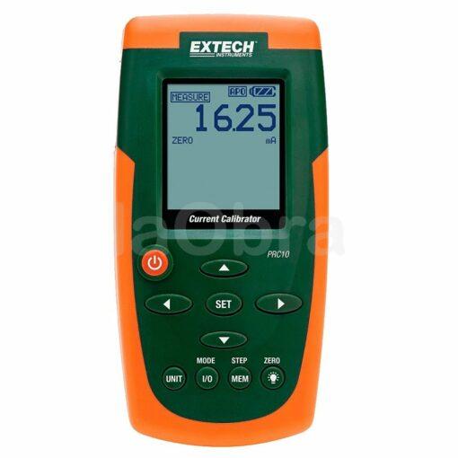 Medidor calibrador corriente Extech PRC10