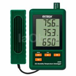 Medidor registrador dióxido carbono Extech SD800