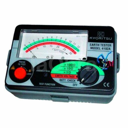 Medidor tierra analógico Kyoritsu 4102A