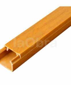 Mini canaleta adhesiva roble