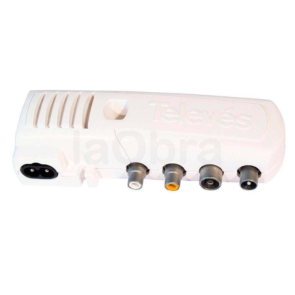 Modulador doméstico VHF-UHF Televes