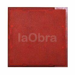 Módulo con señalización acústica y luminosa de color rojo