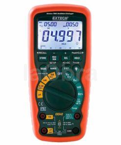 Multímetro industrial inalámbrico trms Extech EX542