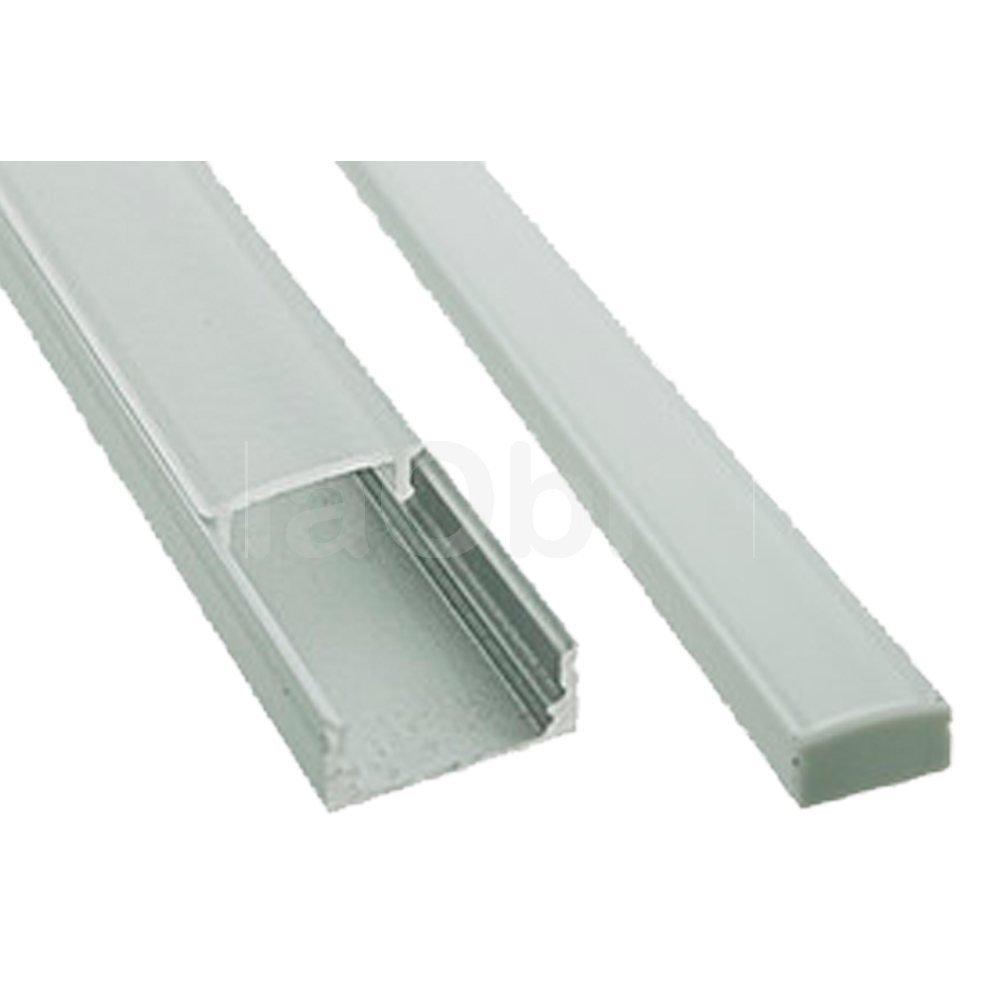Perfil aluminio recto para tira led
