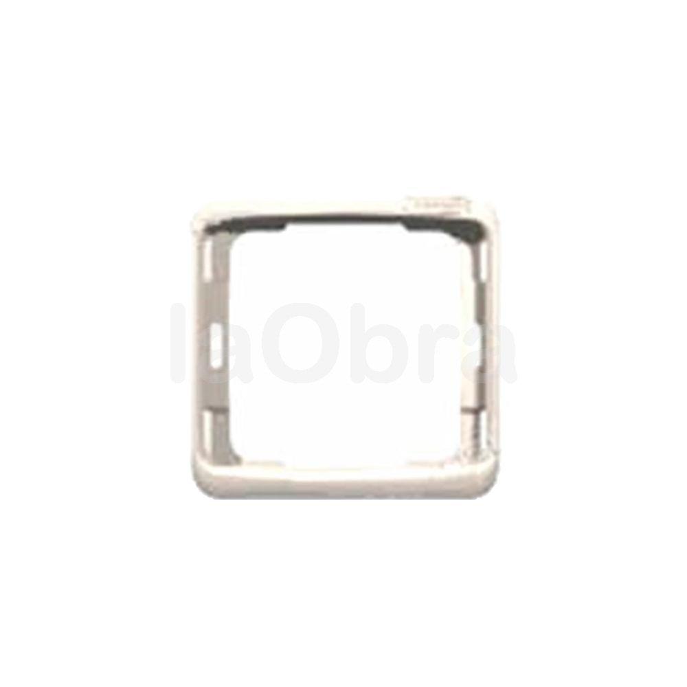 Pieza intermedia Niessen Arco Color blanco