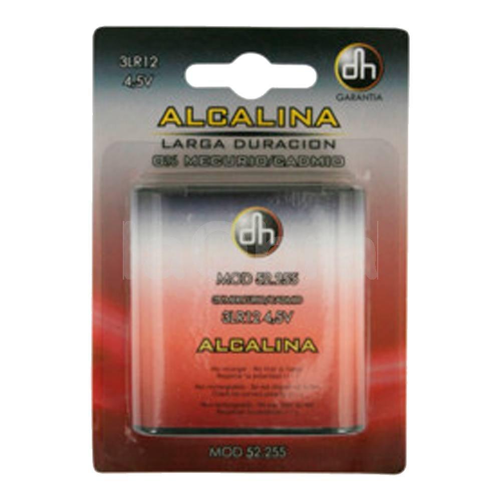 Pila alcalina 3LR12