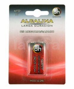 Pila alcalina 6LF22