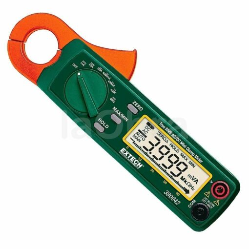 Pinza amperimétrica mini trms Extech 380942