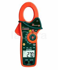 Pinza amperimétrica digital termómetro IR Extech EX810