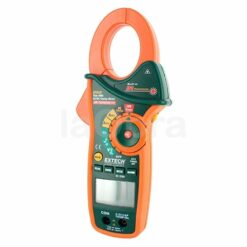 Pinza amperimétrica trms termómetro IR Extech EX840