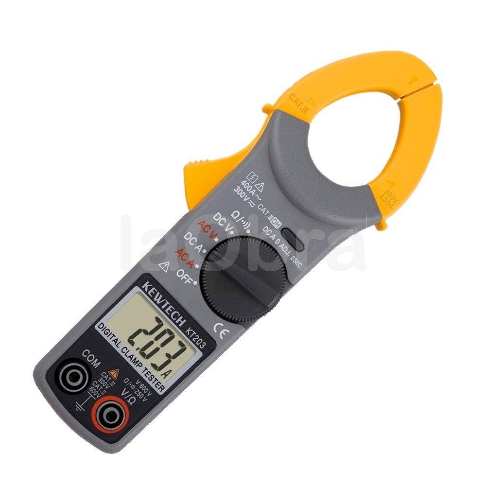 Pinza amperimétrica digital Kyoritsu KT203