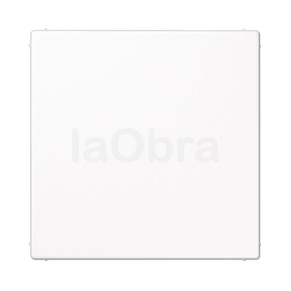 Placa ciega Jung LS 990 blanco alpino