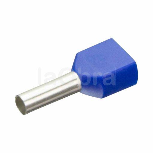 Punteras aisladas dobles para cable eléctrico