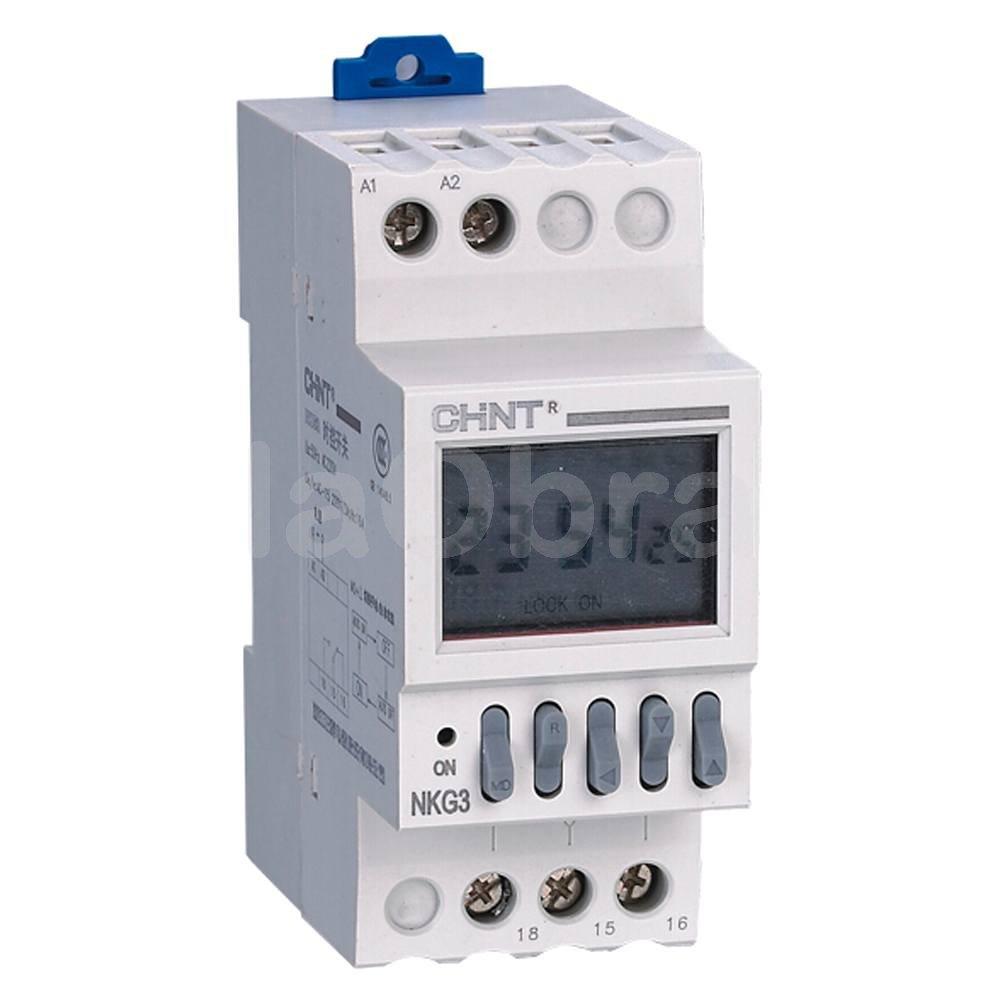 Reloj programador digital chint al mejor precio con env o - Programador calefaccion siemens ...