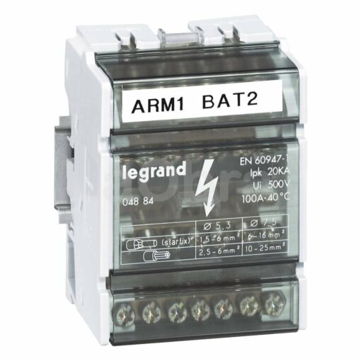 Repartidor eléctrico tetrapolar Legrand