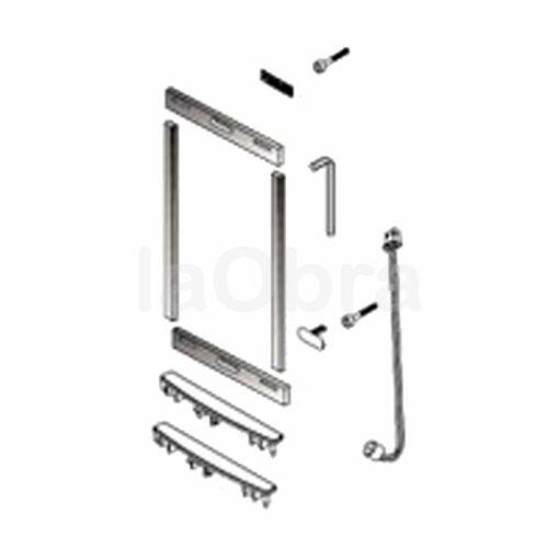 Set accesorios cierre placa Fermax