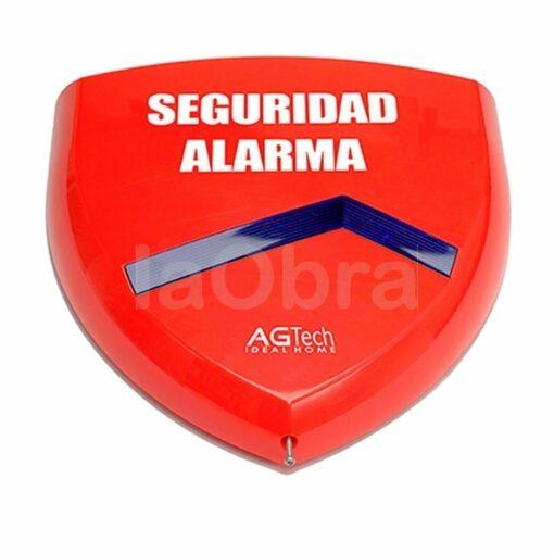 Sirena exterior disuasoria para alarma AG100+