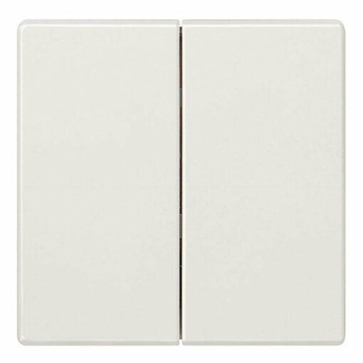 Tecla doble interruptor Siemens Style blanco titán