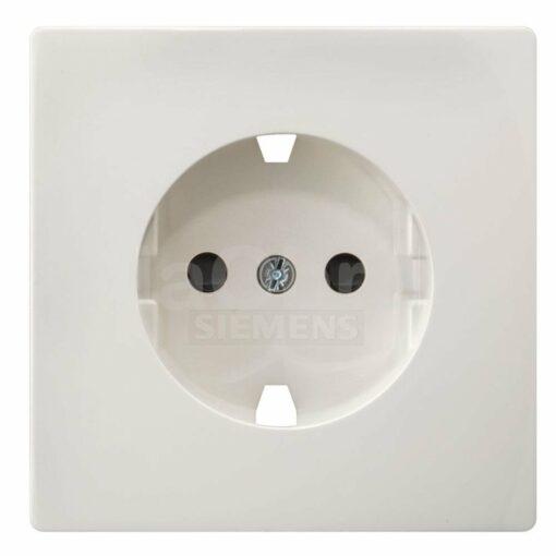 Tecla enchufe Siemens Style blanco titán