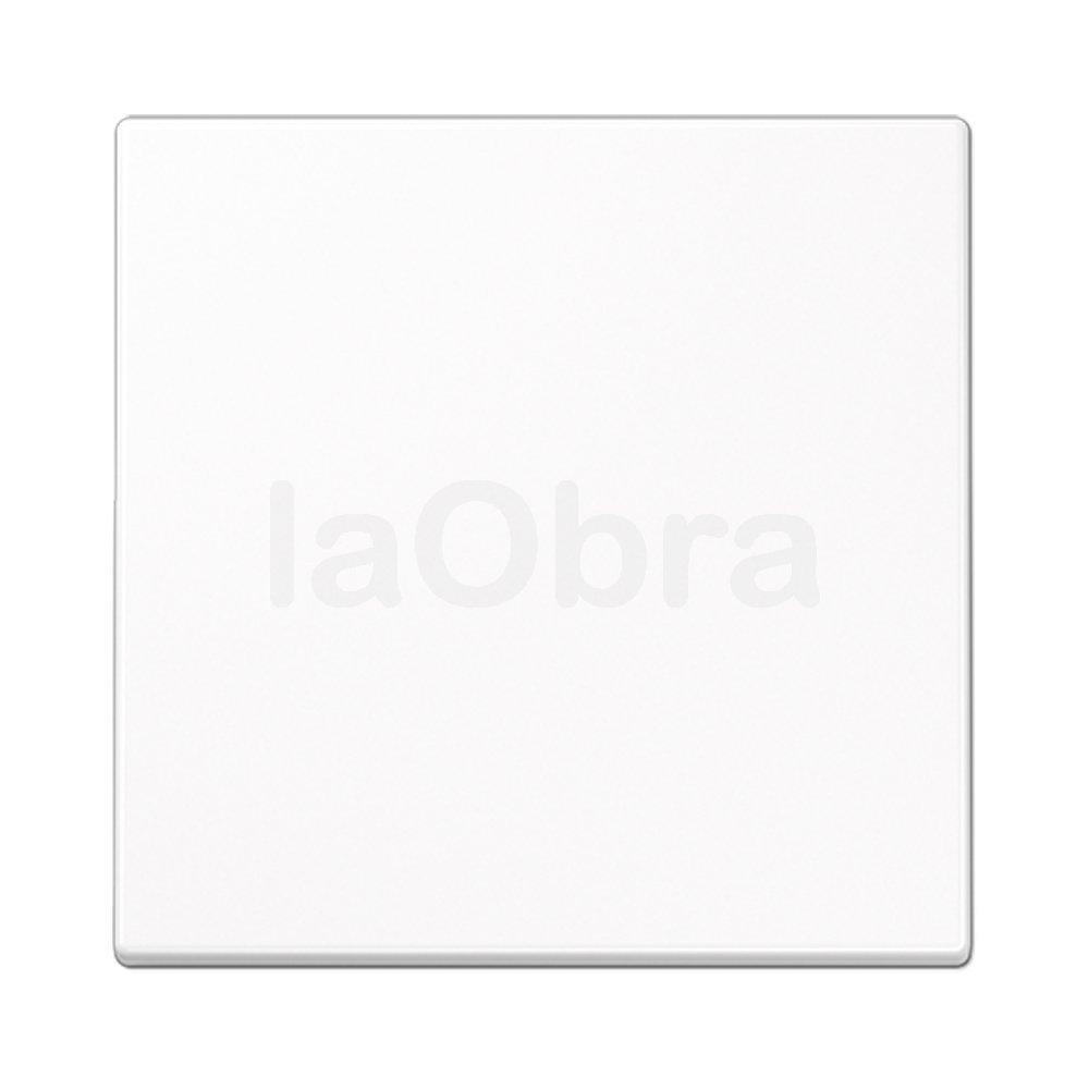 Tecla interruptor Jung LS 990 blanco alpino