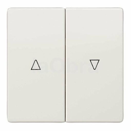 Tecla interruptor persiana Siemens Style blanco titán
