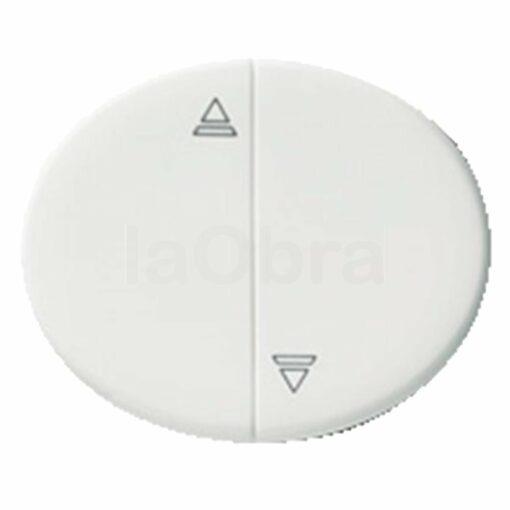 Tecla interruptor persianas Niessen Tacto blanco