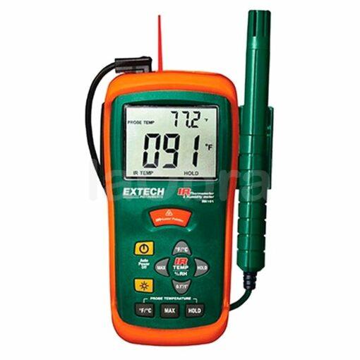 Termo-higrómetro termómetro IR digital Extech RH101