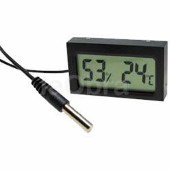 Termómetro e higrómetro electrónico digital