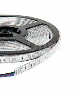 Tira led flexible 12V exterior RGB