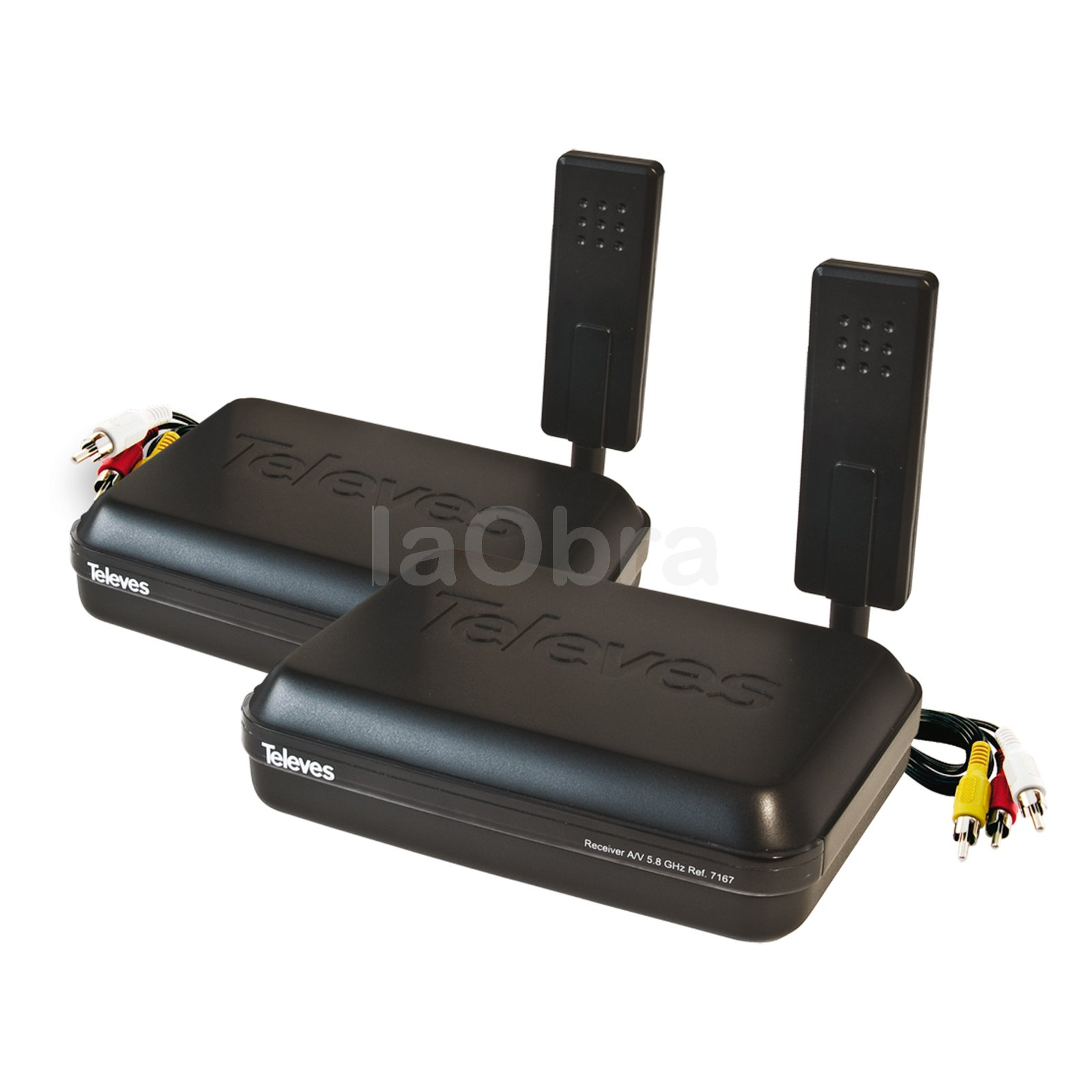 Transmisor receptor audio video Digidom Televes